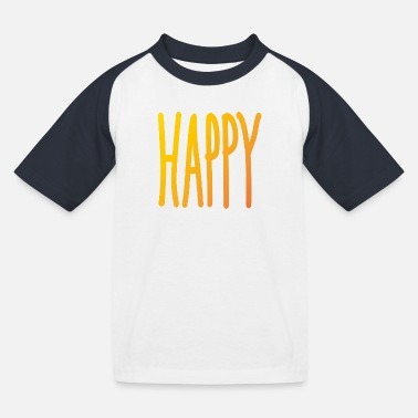 Happy - Camiseta béisbol niño