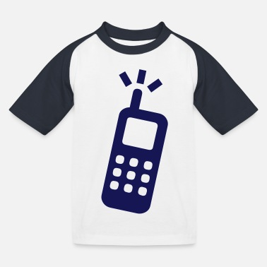 Phone phone - Kids' Baseball T-Shirt