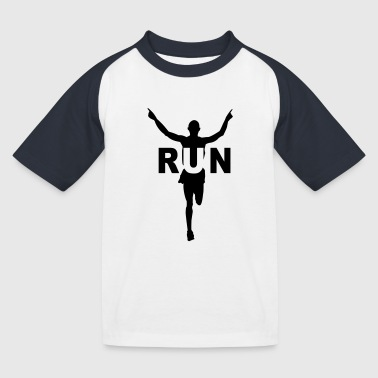 Marathon Run course à pied - T-shirt baseball Enfant