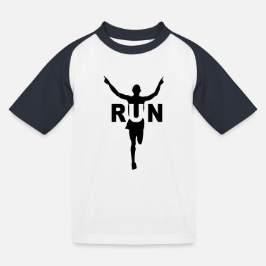 Course À Pied Humour Run course à pied - T-shirt baseball Enfant