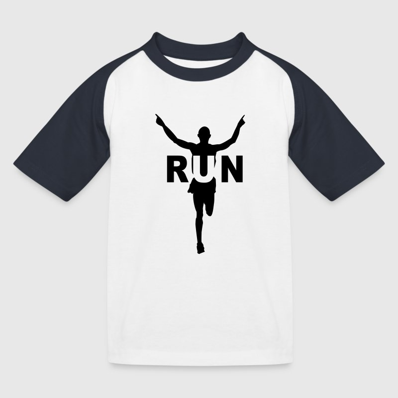 Run course à pied - T-shirt baseball Enfant
