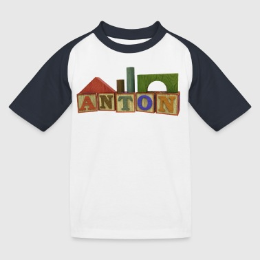 Anton - Kinder Baseball T-Shirt