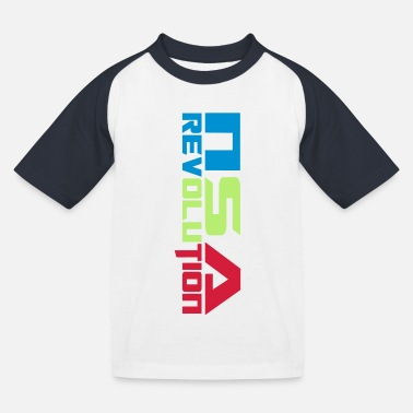Nsa nsa revolution - Kids' Baseball T-Shirt
