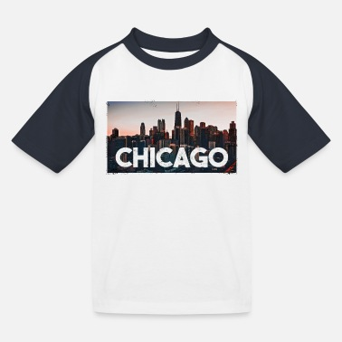 Chicago Chicago - Kinderen baseball T-shirt