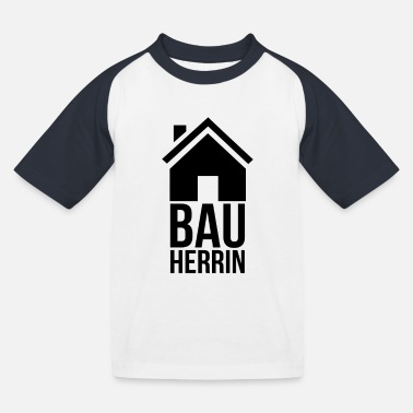 House Building house building - Kids' Baseball T-Shirt