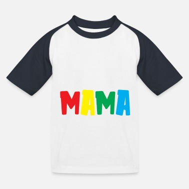 Make Love Not War Non farmi comportare come la mia mamma Funny Kids Saying - Maglietta baseball per bambini