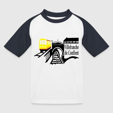le petit train jaune - T-shirt baseball Enfant