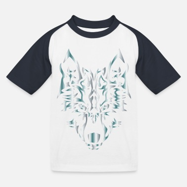 wolf - Kids' Baseball T-Shirt