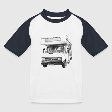 Camper - T-shirt baseball Enfant