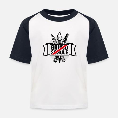 Grundschule Abschluss Kinder Baseball T Shirt Spreadshirt