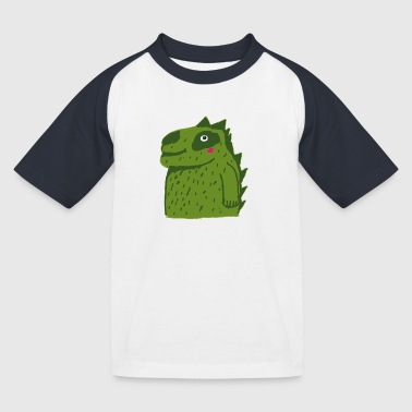 petit crocodile mignon - T-shirt baseball Enfant
