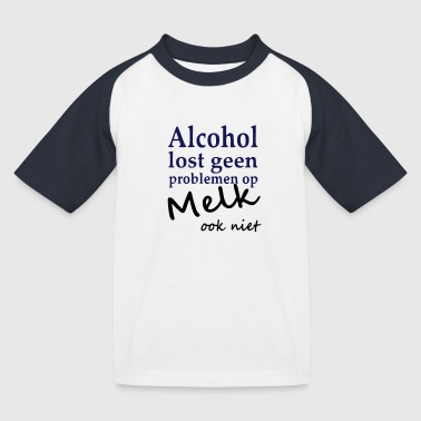 Alcohol - Kinderen baseball T-shirt