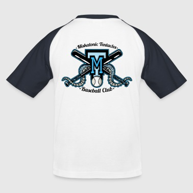 Miskatonic Tentacles - Kinder Baseball T-Shirt