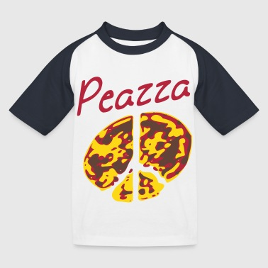 Pizza - Kinderen baseball T-shirt