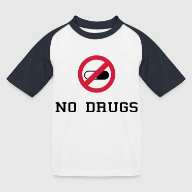 No Drugs / Say no to drugs / Drogen / Keine Drogen - Kinderen baseball T-shirt