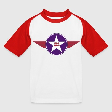 usa army vector design - T-shirt baseball Enfant