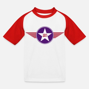 Vector Design usa army vector design - T-shirt baseball Enfant