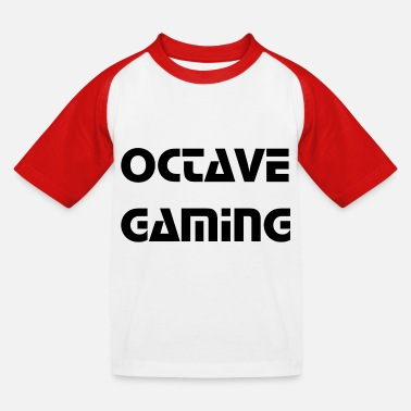 Octave octave gaming - Kids' Baseball T-Shirt