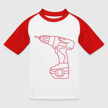 Tournevis perceuse sans fil - T-shirt baseball Enfant