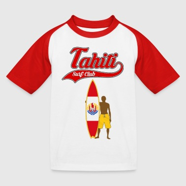 tahiti surfing - T-shirt baseball Enfant