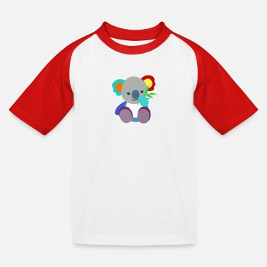 Our friend the koala - Kids' Baseball T-Shirt