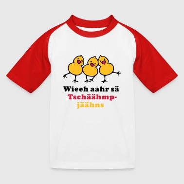 German Fan Chicks - Kinder Baseball T-Shirt