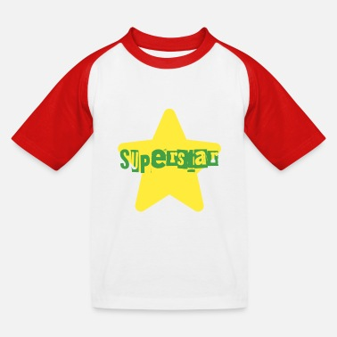 superstar - Kids' Baseball T-Shirt