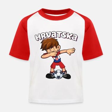 La Croatie t-shirt Enfants Football Fan shirt blanc