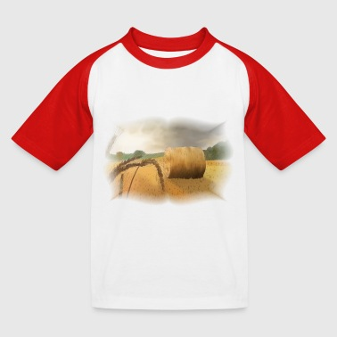 Ernte - Kinder Baseball T-Shirt