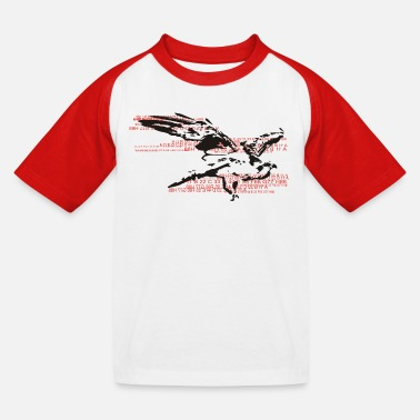 American Eagle eagle - Kids' Baseball T-Shirt