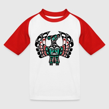 Haida Thunderbird - Kids' Baseball T-Shirt