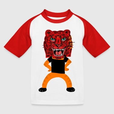 Tiger Junges Tiger - Kinder Baseball T-Shirt