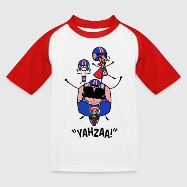 Adrenalini - Bike Stunt - Kids' Baseball T-Shirt