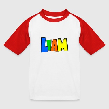 Liam - Kids' Baseball T-Shirt