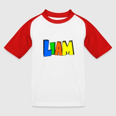 Liam - T-shirt baseball Enfant
