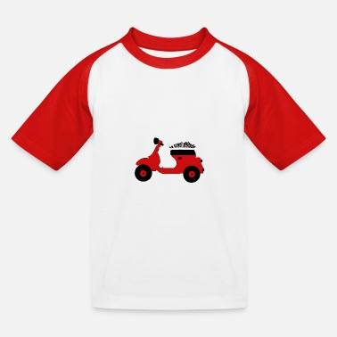 Le scoot attitude 3 - T-shirt baseball Enfant