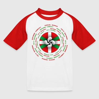 croix basque euskadi - T-shirt baseball Enfant