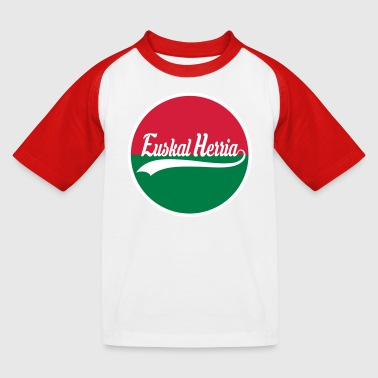 Basque vector design - T-shirt baseball Enfant