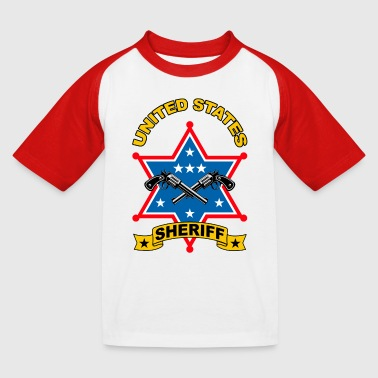 sheriff united states - T-shirt baseball Enfant