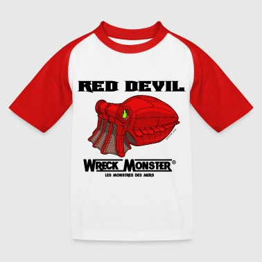 Red Devil - T-shirt baseball Enfant