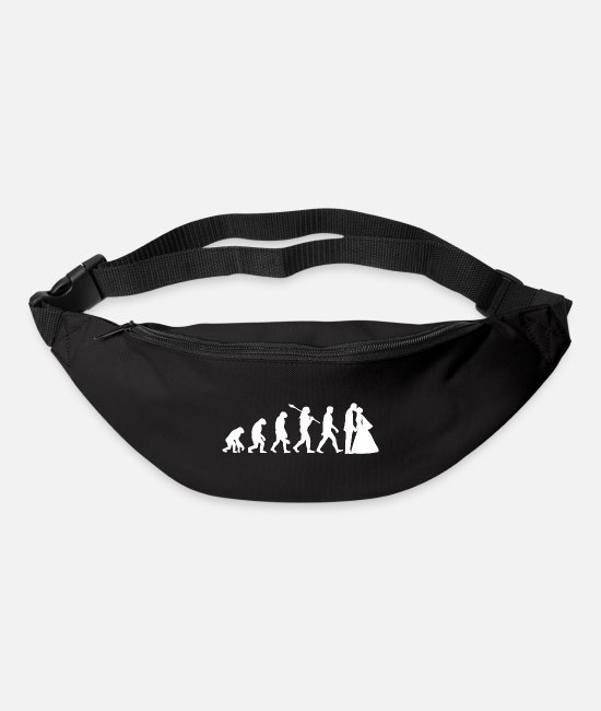 Hen Night Bags & Backpacks - Marry evolution - Bum Bag black