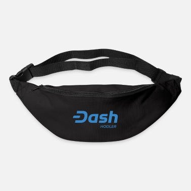 Dash Dash Digital Cash - Crypto Hodler #DASH - Bum Bag