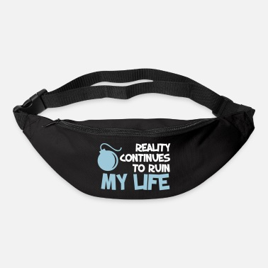 Quote Funny Quotes. Quote. Humor. gift - Bum Bag