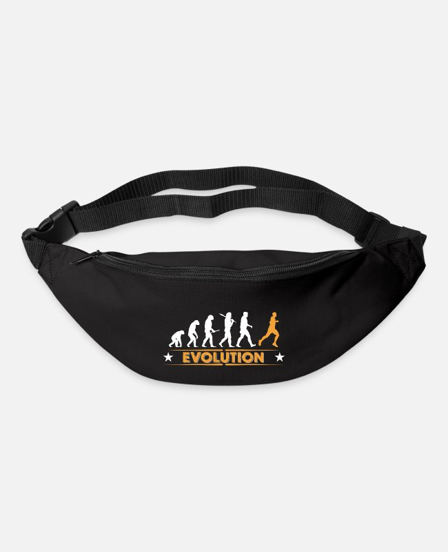 I Love Bags & Backpacks - Running Evolution - orange/weiss - Bum Bag black