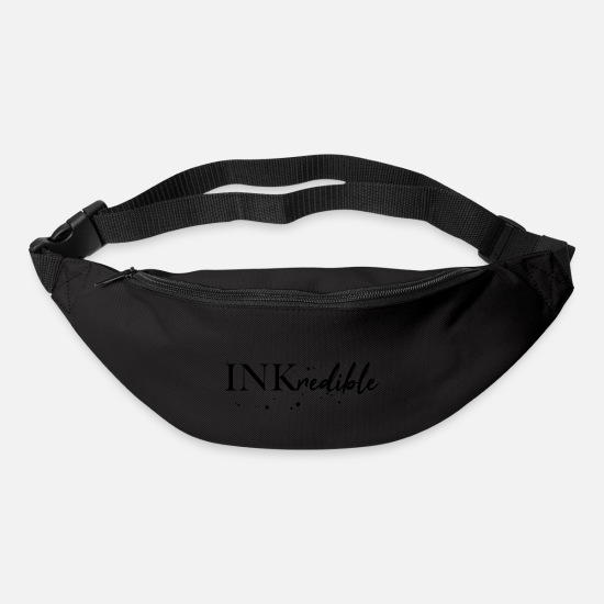 Paint Brush Bags & Backpacks - Inkredible ink tattoo / gift idea - Bum Bag black