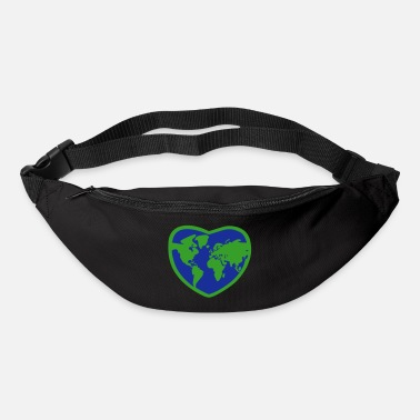 Planet Earth Heart - Sac banane