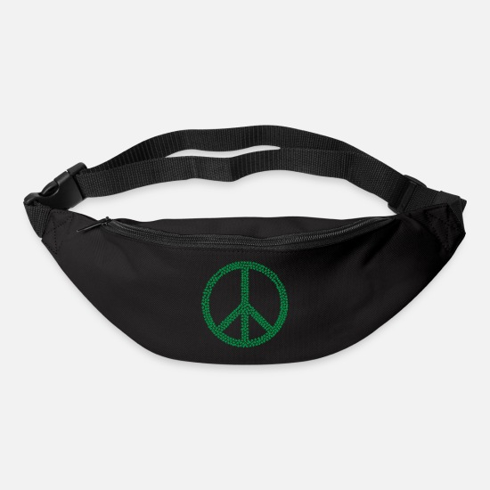 Weed Bags & Backpacks - peace weed - Bum Bag black