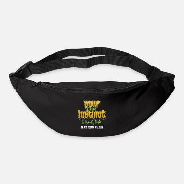 Instinct feeling forethought heart sense saying gift - Bum Bag