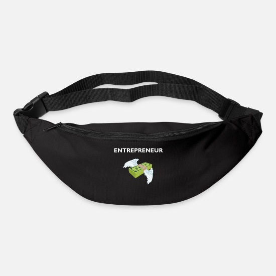 Gift Idea Bags & Backpacks - Entrepreneur entrepreneur dollar gift idea - Bum Bag black