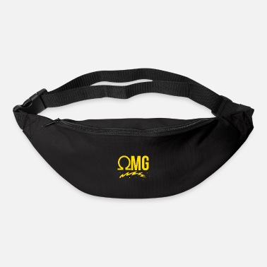 Ohmg OMG Ohm Electrician Electrical Steamer Vaping Vape - Bum Bag